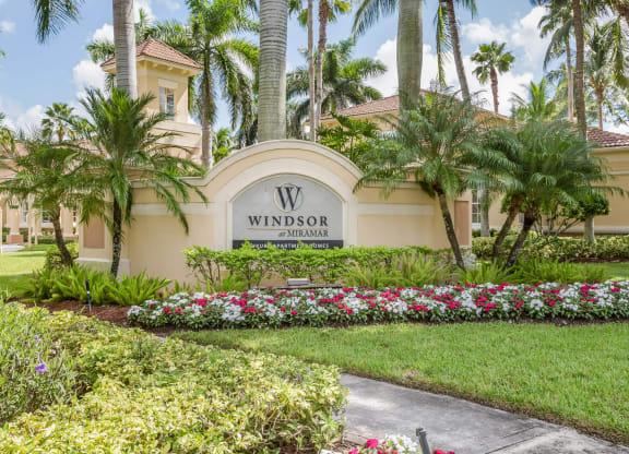 Tropical Oasis Setting at Windsor at Miramar, Miramar, FL