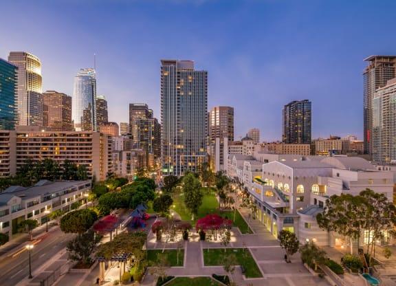Convenient South Park Location at Renaissance Tower, Los Angeles, California