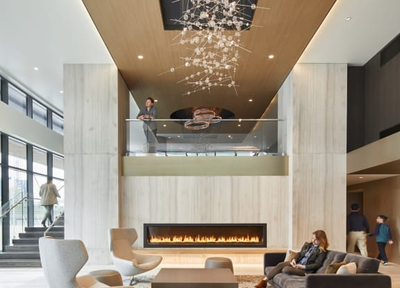 Grand Lobby at Stratus, Seattle, Washington