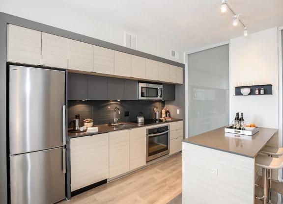 Modern Kitchen at 7770 Norfolk, Bethesda, Maryland