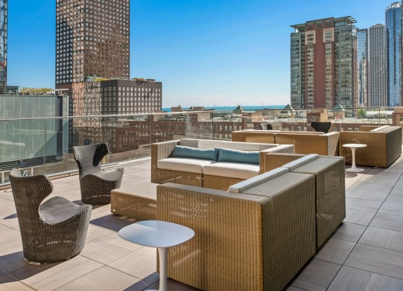 Rooftop Lounge at Moment, Chicago,Illinois