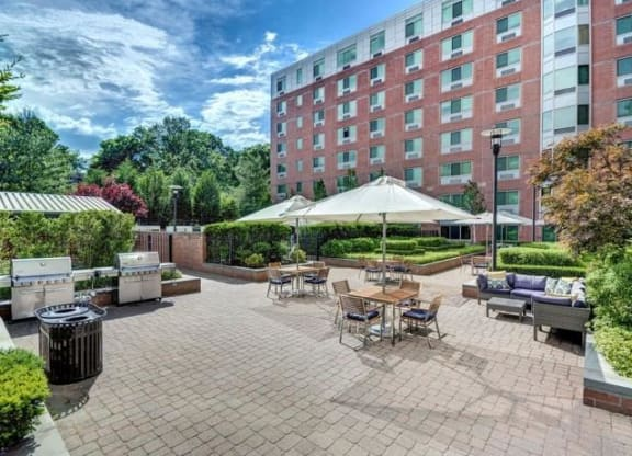 Enjoy our beautiful grilling patio and sun terrace.
