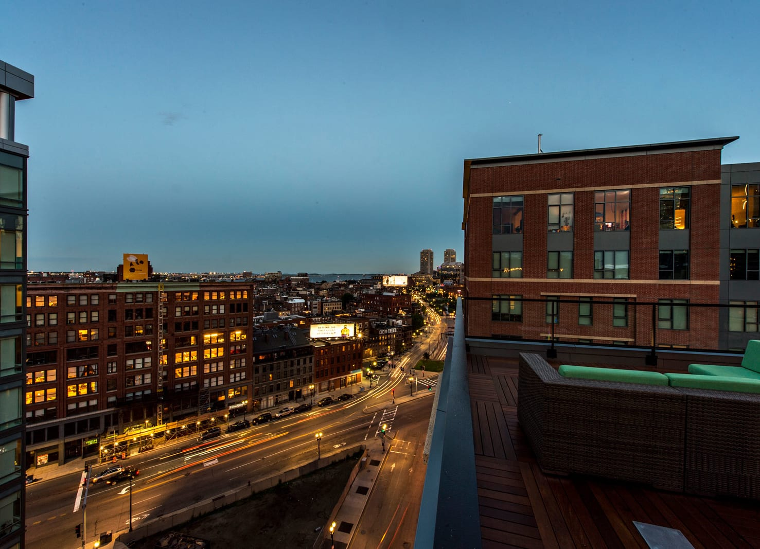 Rooftop Lounge at The Victor by Windsor, Boston, Massachusetts