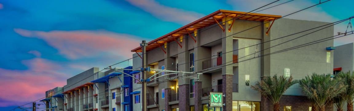 Apartments near ASU in Tempe, AZ | Metro 101 | Map
