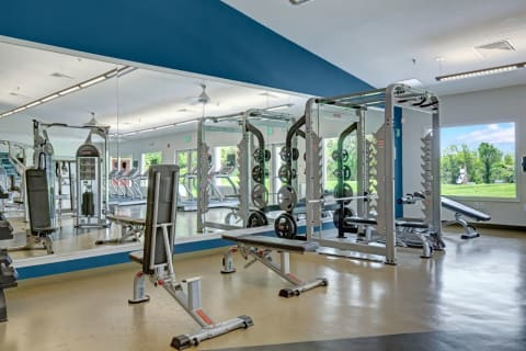 Exclusive 8,700 Sq. Ft. Fitness Center with Weight & Cardio Equipment and More