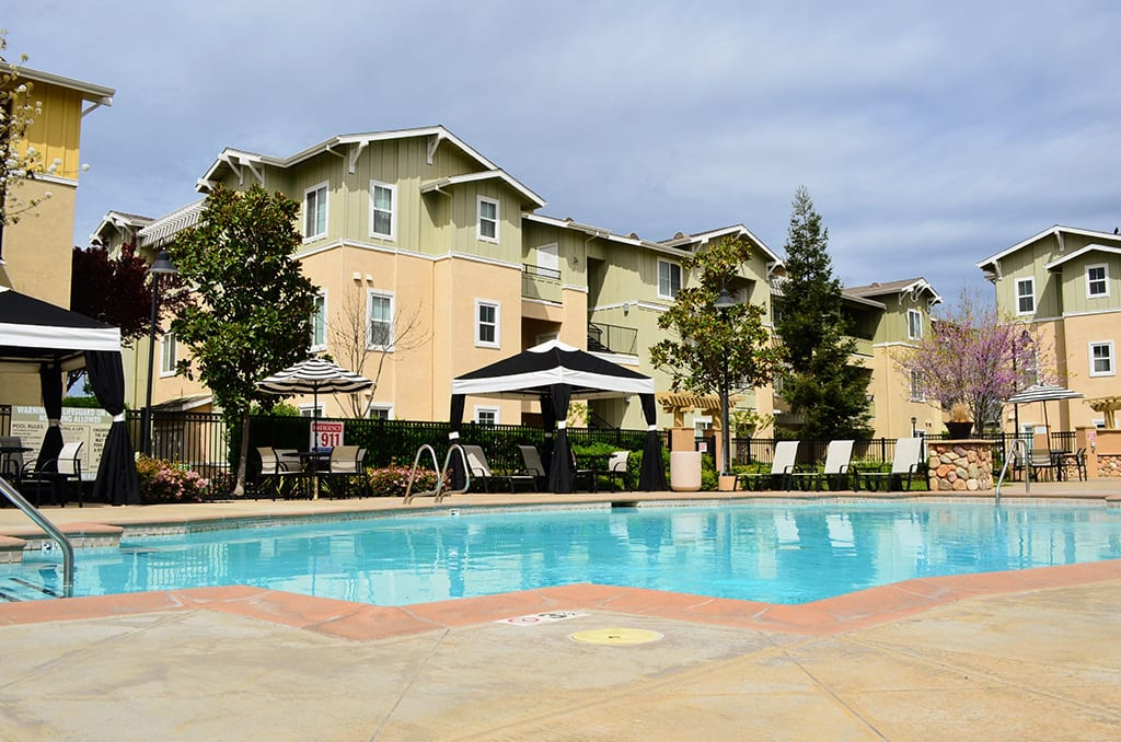 Shimmering Swimming Pool at Waterstone Apartment Homes, California, 95377