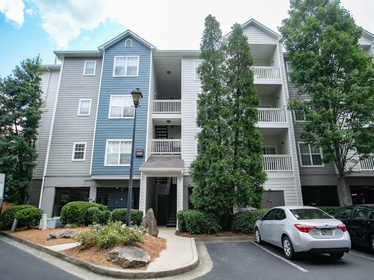 Outdoor View of Apartments at The Prato at Midtown, Atlanta, GA