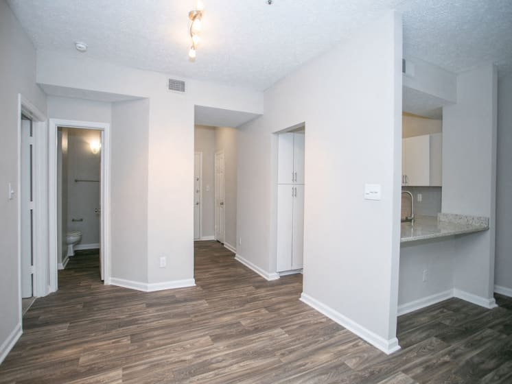 Open Concept Living Space at The Prato at Midtown, Atlanta