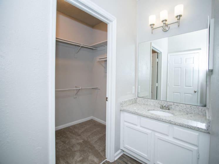 Updated Bathroom at The Prato at Midtown, Atlanta, Georgia 30308
