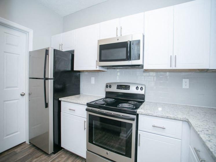 Updated Kitchen at The Prato at Midtown, Atlanta, GA 30308