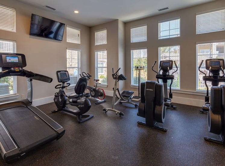 Pavilion-Village-Apartments---Charlotte-NC gym
