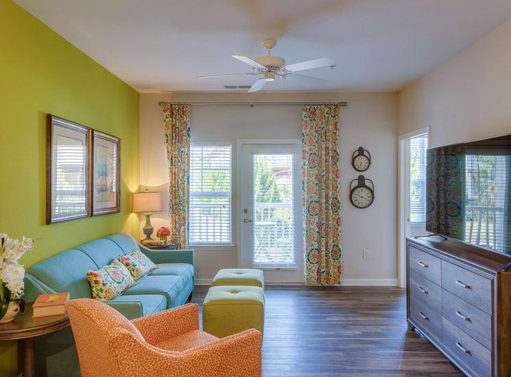 Pavilion-Village-Apartments---Charlotte-NC Living Area