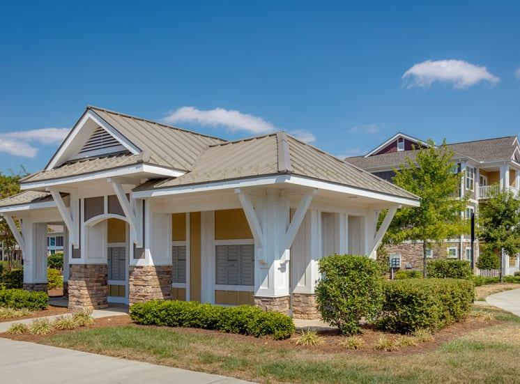 Mail center at Pavilion-Village-Apartments---Charlotte-NC