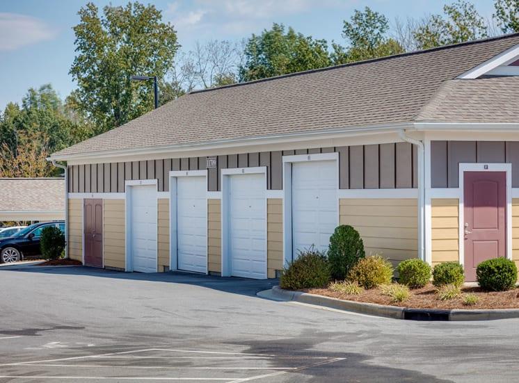 Garages at Pavilion-Village-Apartments---Charlotte-NC