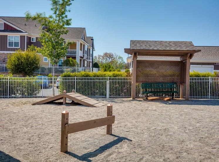 Dog Park Pavilion-Village-Apartments---Charlotte-NC