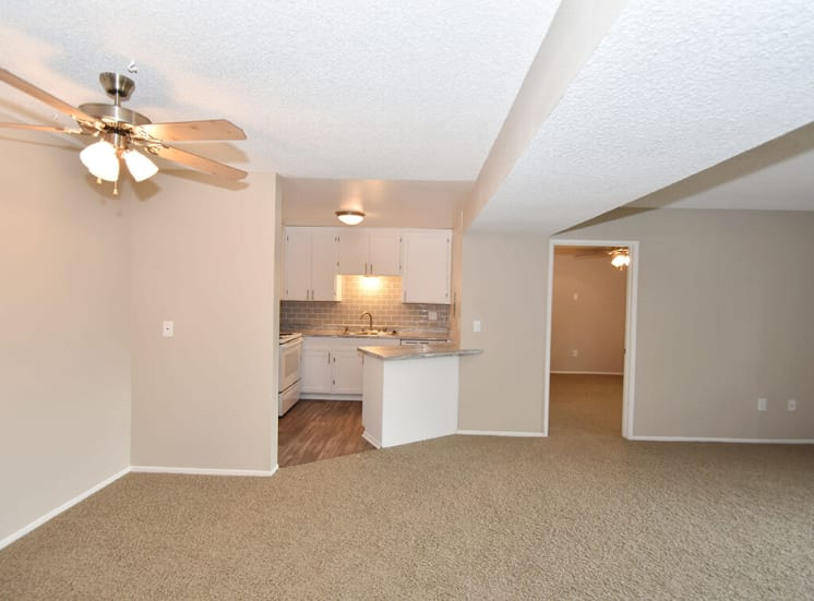 Carpeted Room at Morning View Terrace Apartments, California, 92026