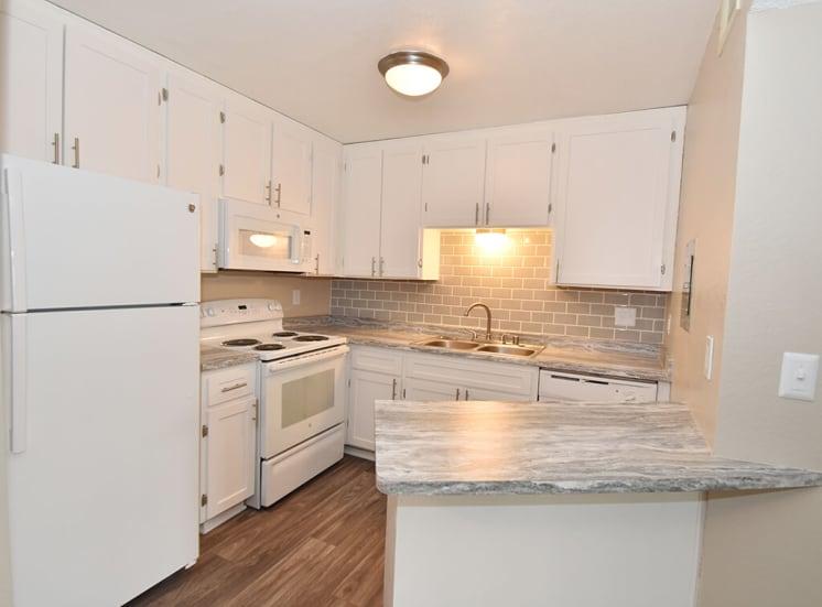 Modern Kitchen at Morning View Terrace Apartments, Escondido, 92026