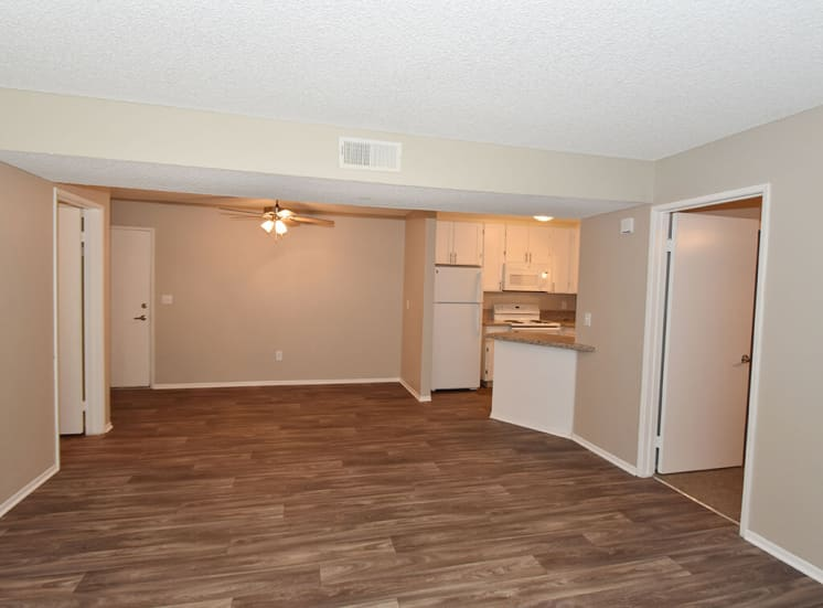 Wood Style Flooring at Morning View Terrace Apartments, Escondido, CA