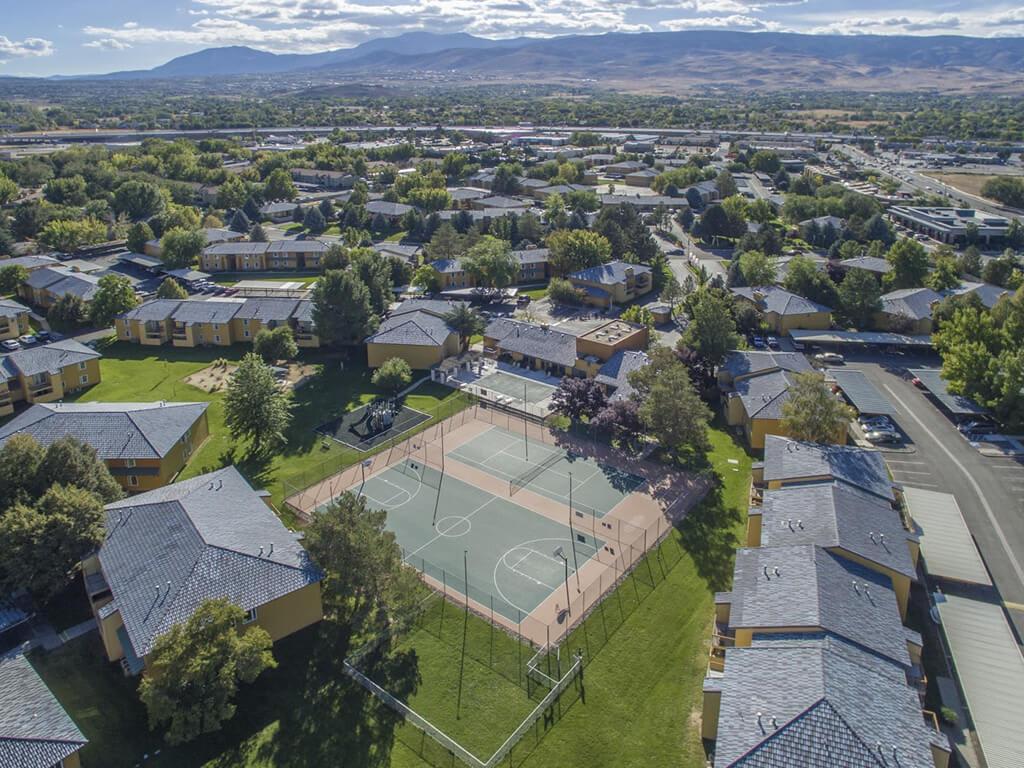 View of Community & Reno at Village at Iron Blossom Apartment Homes, Reno, NV