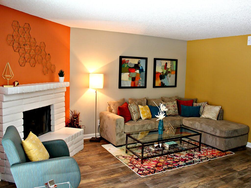 Wood-Inspired Flooring, at Village at Iron Blossom Apartment Homes, NV, 89511