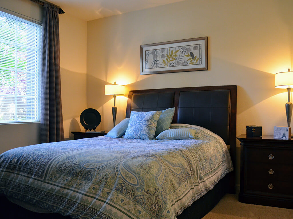 King-Sized Bedrooms at Sterling Village Apartment Homes, Vallejo, CA