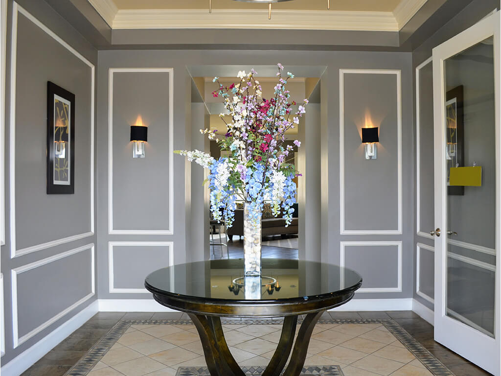 Atrium Style Lobby at Waterstone Apartment Homes, California, 95377