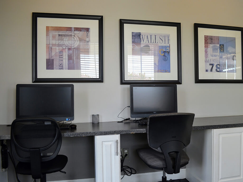 Cyber Cafe with High Speed Internet at Waterstone Apartment Homes, 1951 West Middlefield Drive, 95377