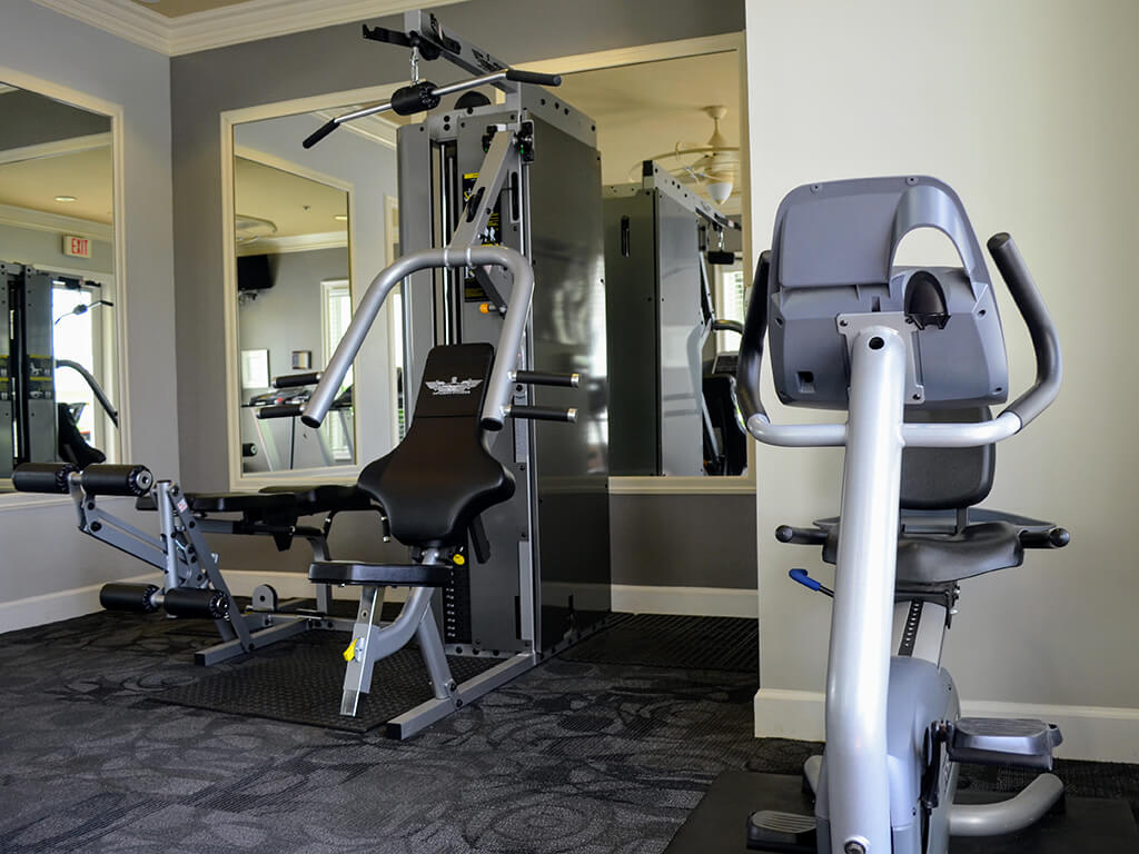 Cardio Equipment at Waterstone Apartment Homes, 1951 West Middlefield Drive, Tracy