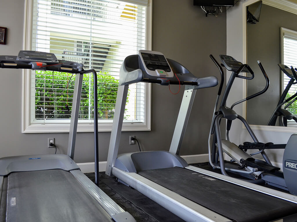 High-Tech Fitness Center at Waterstone Apartment Homes, Tracy, CA