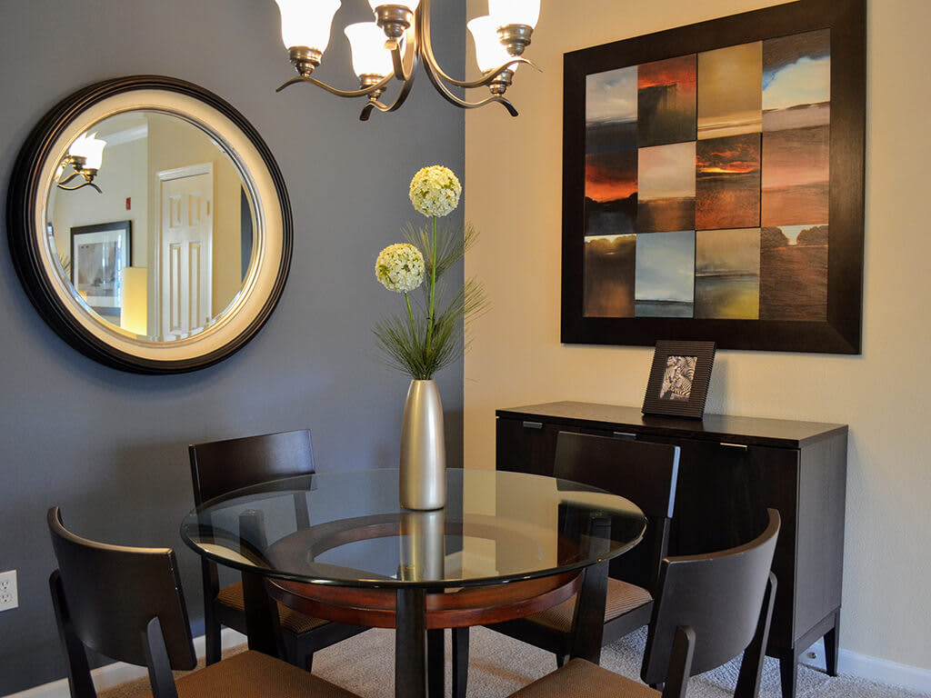 Renovated Dining Area at Waterstone Apartment Homes, CA, 95377