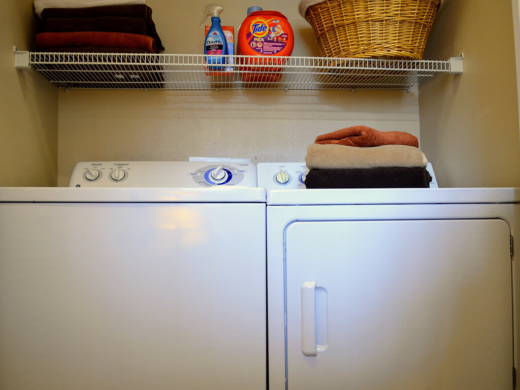 Full-Size Washers and Dryers at Waterstone Apartment Homes, 1951 West Middlefield Drive, Tracy