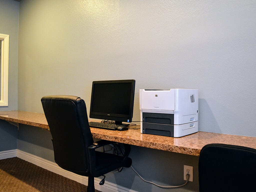 Cyber Cafe with Printers at Del Norte Place Apartments, 11720 San Pablo Avenue, 94530