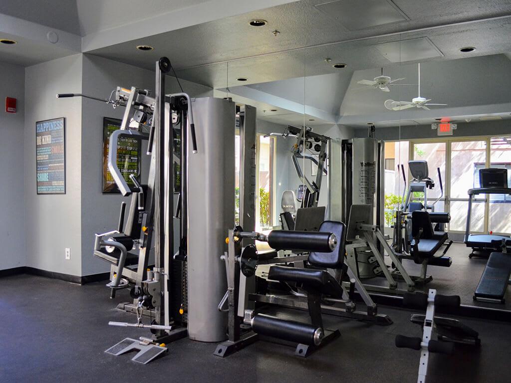 High-Tech Fitness Center at Del Norte Place Apartments, El Cerrito, 94530