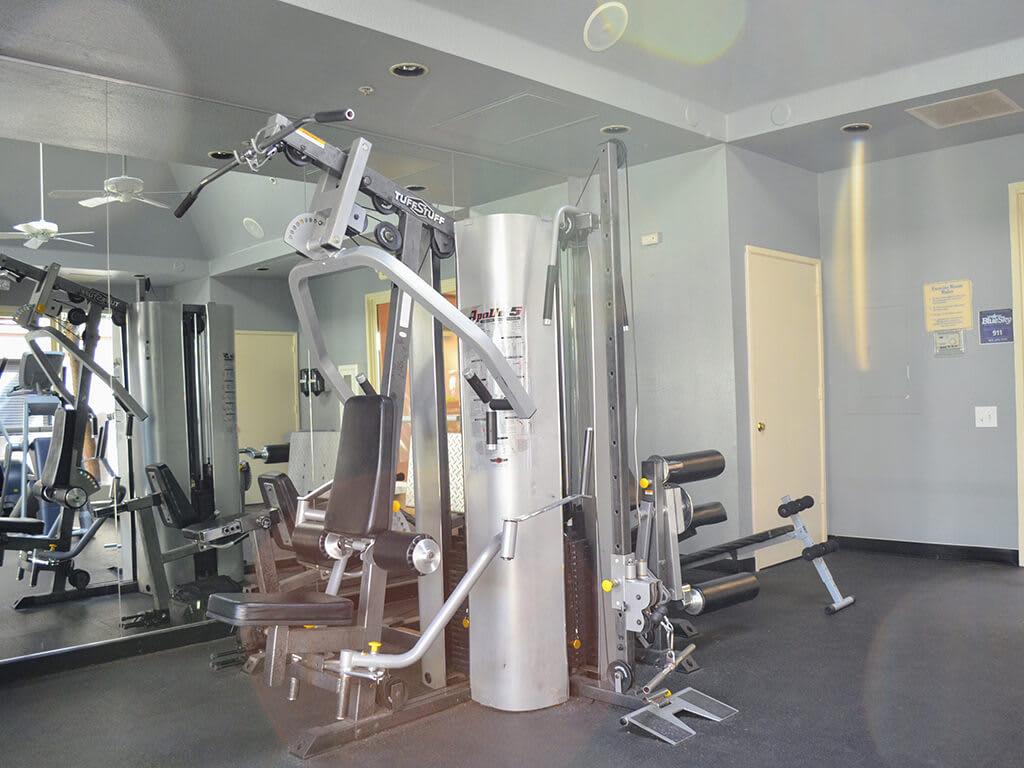 State-of-the-Art Fitness Center at Del Norte Place Apartments, 11720 San Pablo Avenue, El Cerrito
