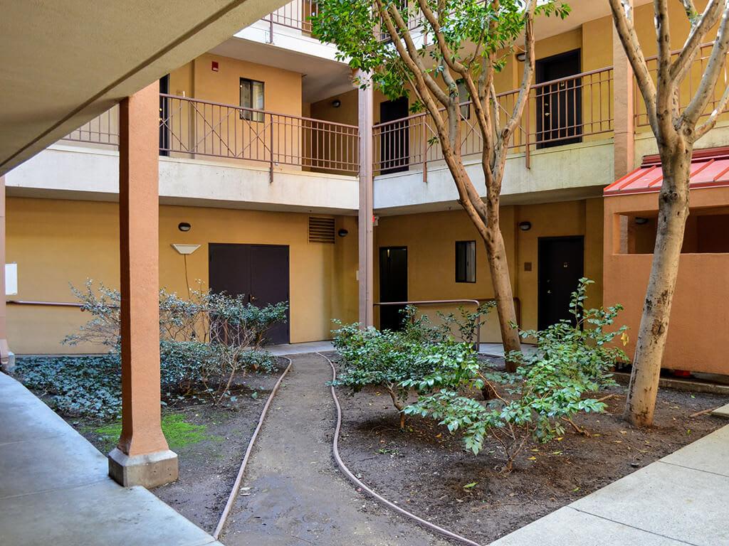Private Patio/Balcony with Ample Storage at Del Norte Place Apartments, El Cerrito, California