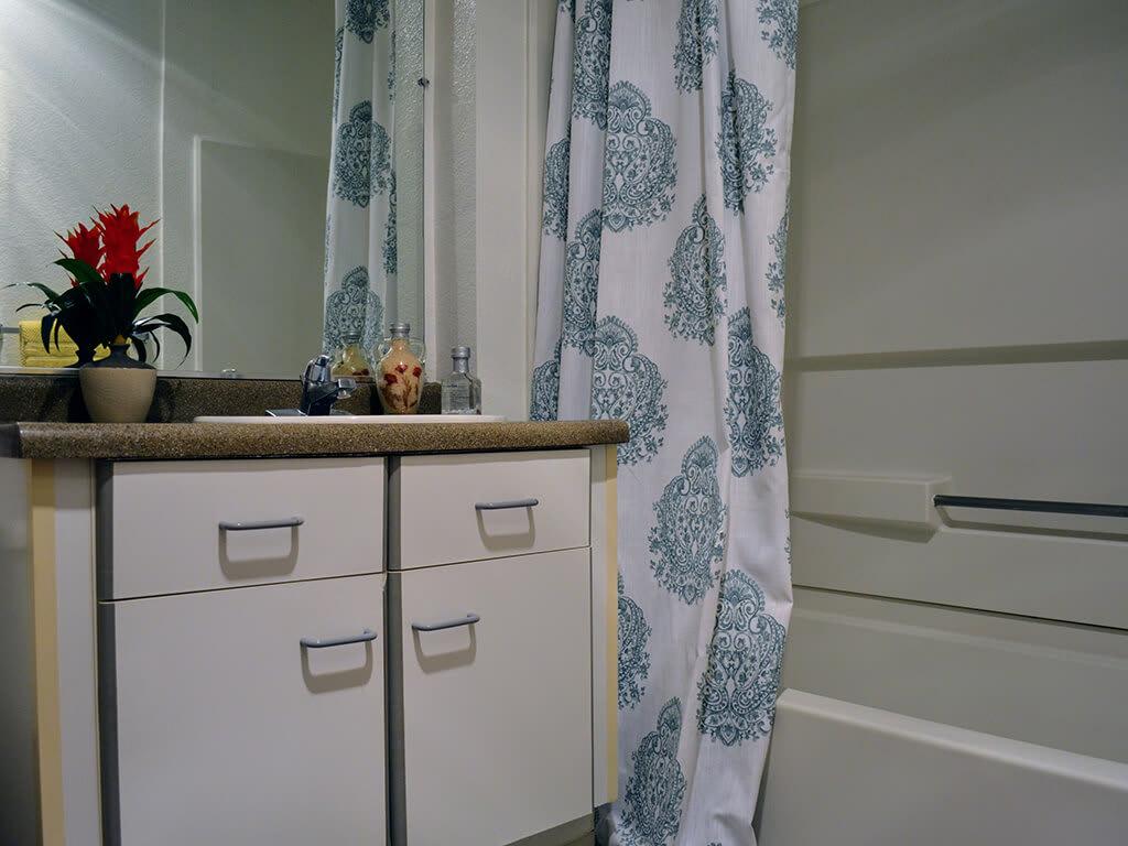Linen Storage Space at Del Norte Place Apartments, 11720 San Pablo Avenue, 94530
