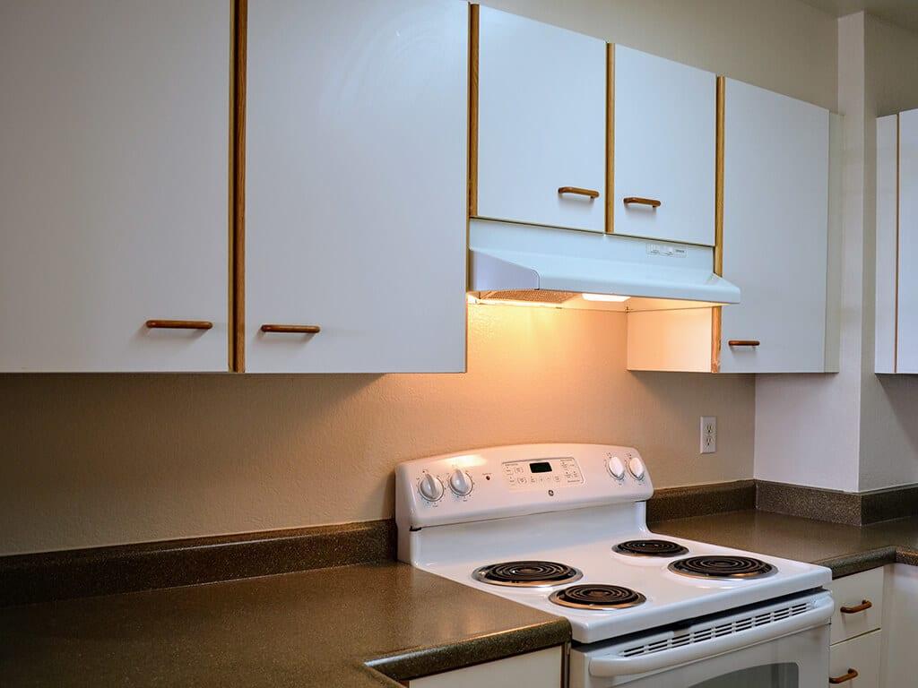 Under Cabinets Lightning at Del Norte Place Apartments, 11720 San Pablo Avenue, 94530