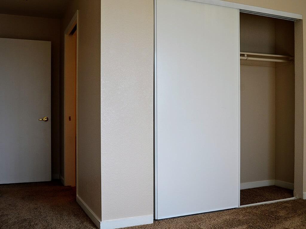 Walk in Closets at Del Norte Place Apartments, El Cerrito, California