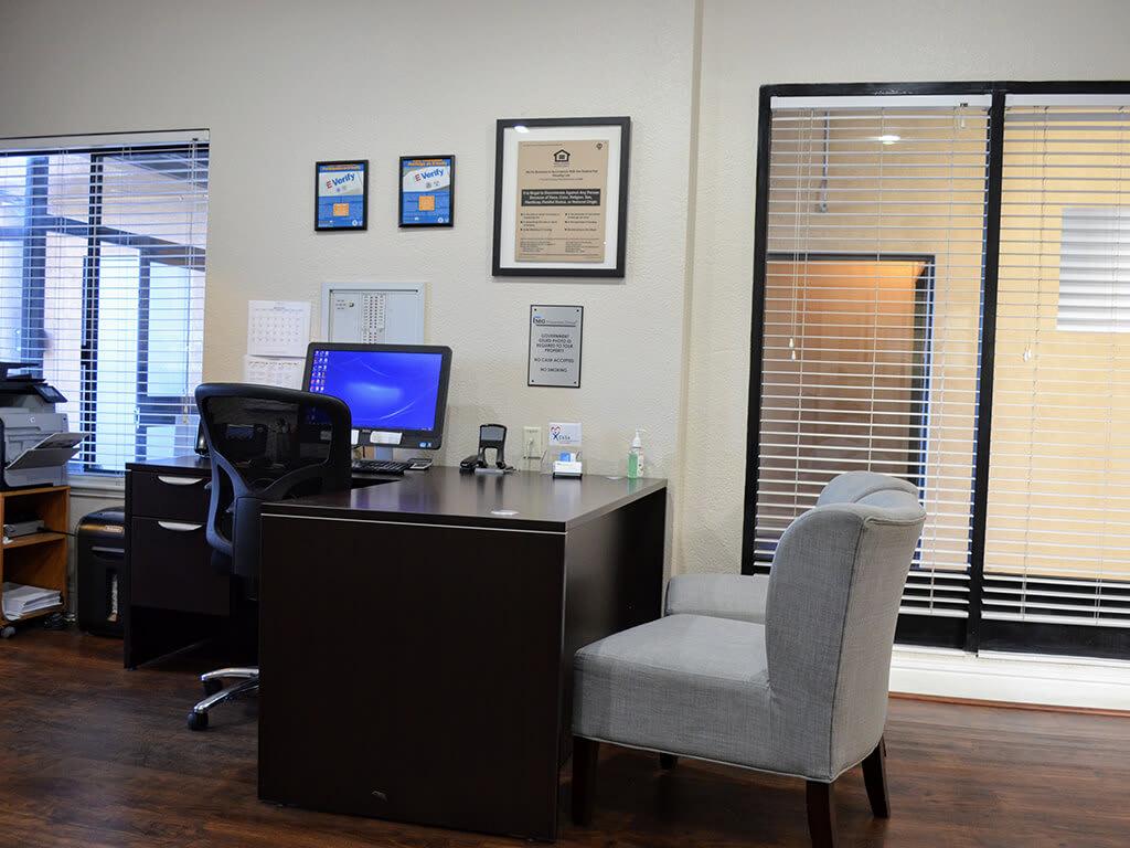 Business Center with High Speed Internet at Del Norte Place Apartments, El Cerrito, California