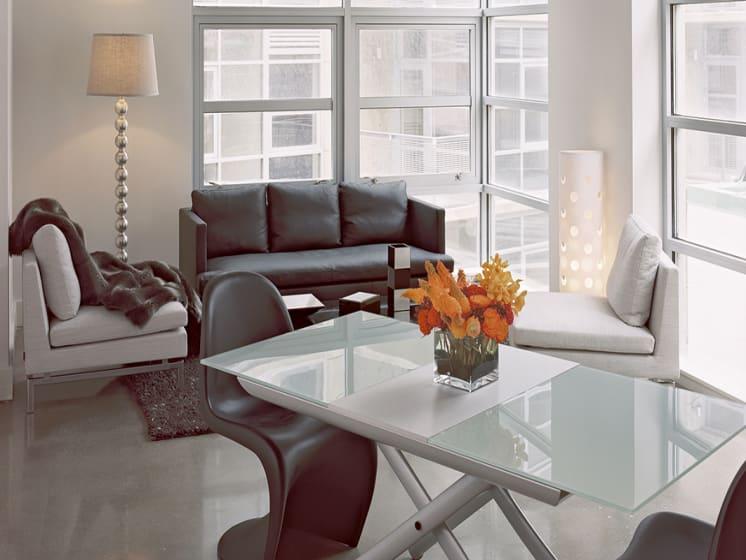 Modern Living Room at The DeSoto Apartments, Washington, DC