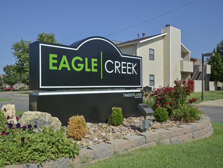 Eagle Creek Monument Sign
