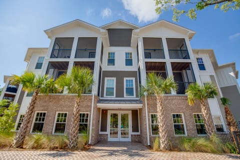 Exterior of one of Proximity's apartments in West Ashley, Charleston, SC