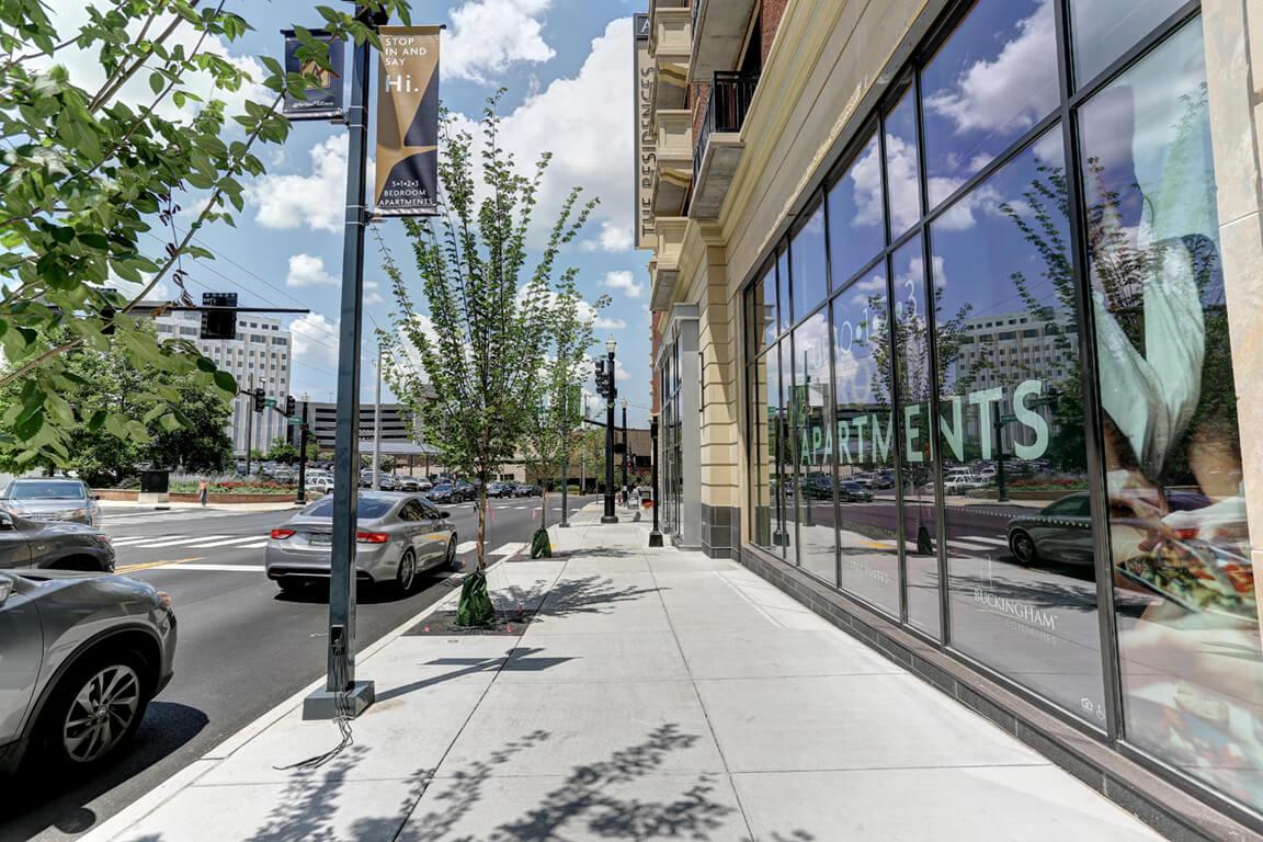 Exquisite Exterior Designs at Aertson Midtown, Nashville, TN, 37203