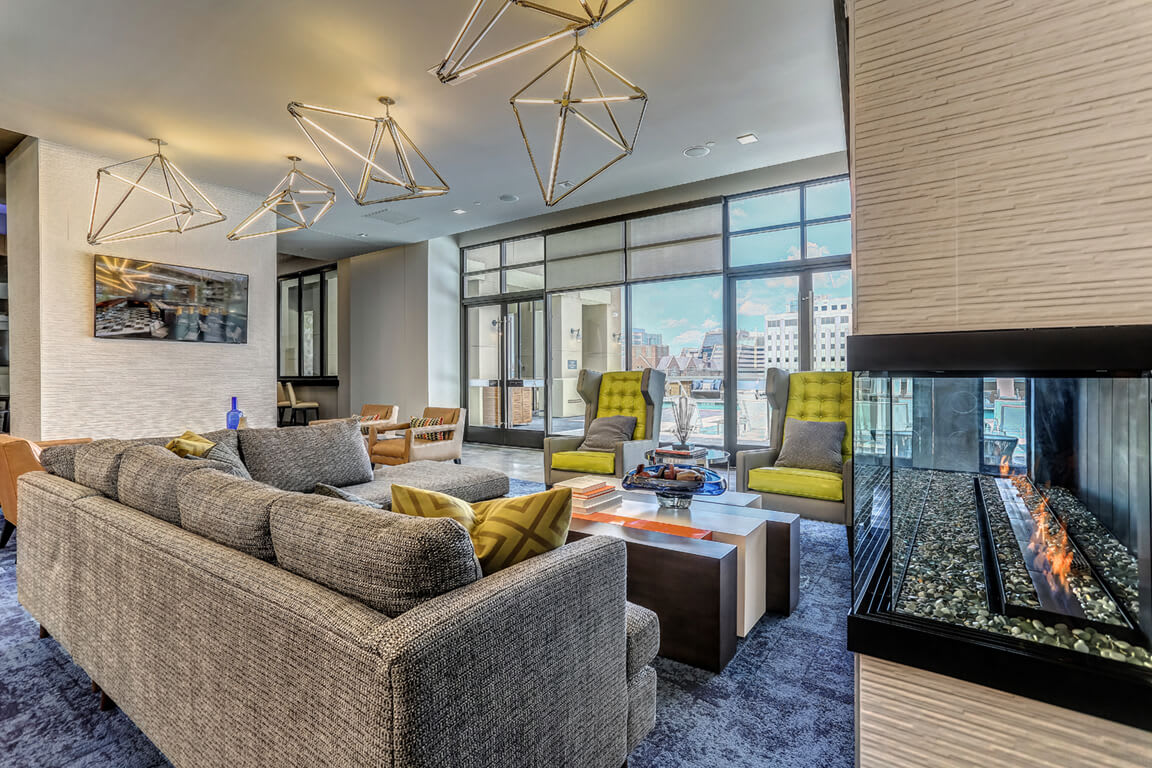 Exquisite Resident Center And Lounge at Aertson Midtown, Nashville, Tennessee