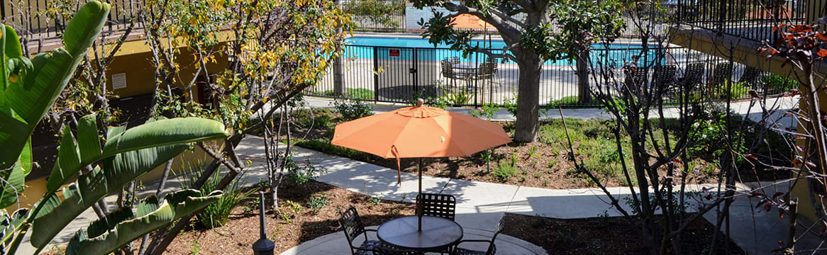 Nature Friendly Community at The Marquee Apartment Homes, 12300-12312 Sherman Way, NoHo