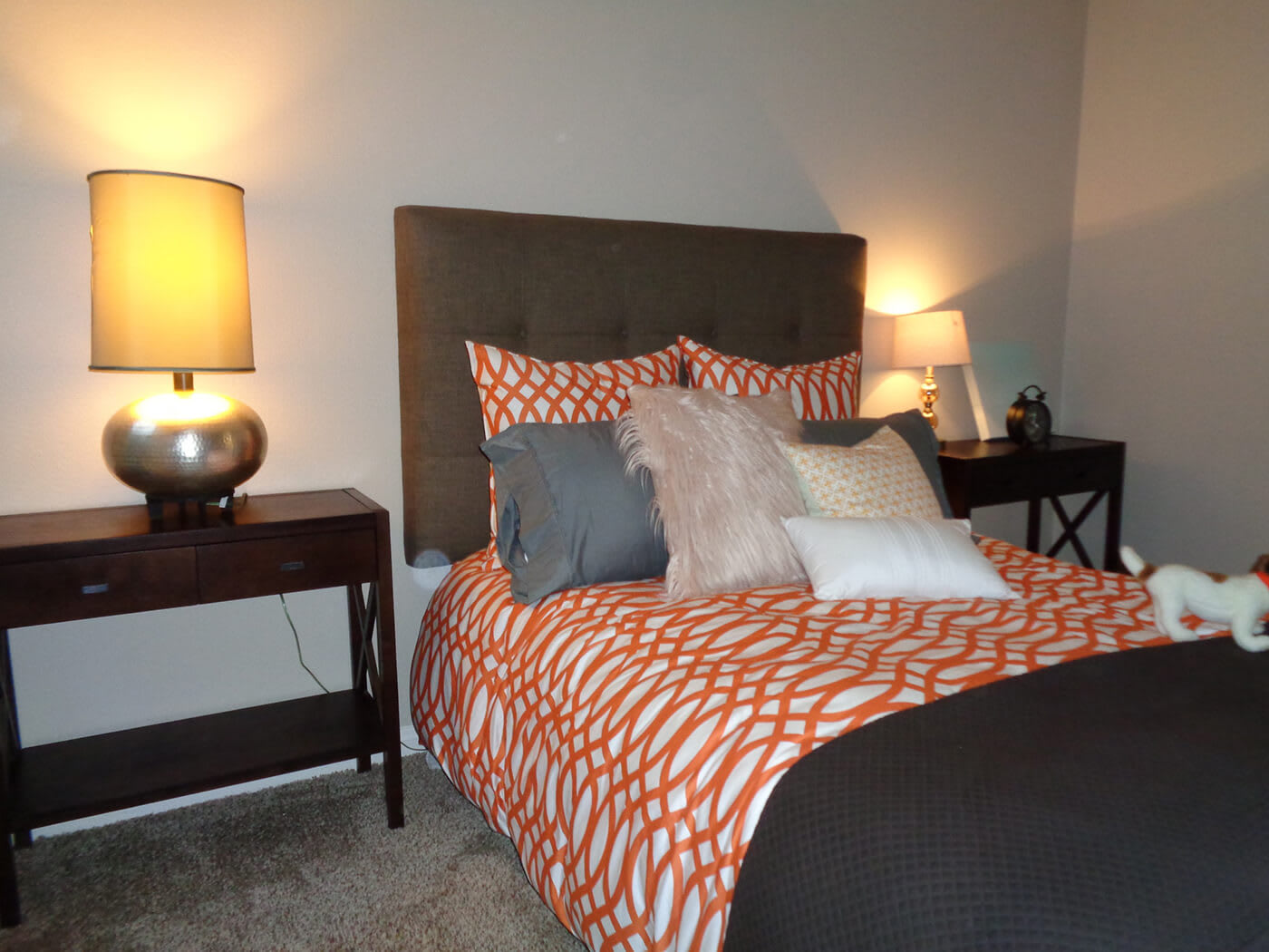 Comfortable Bedroom at Hills at Hacienda Heights, Hacienda Heights, California