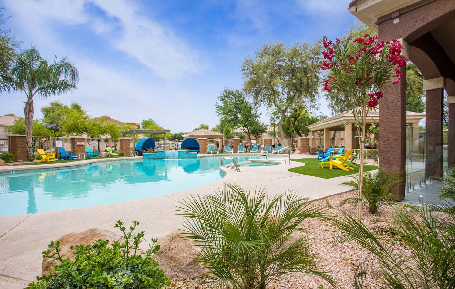 Pool With Sunning Deck at Biscayne Bay, Chandler