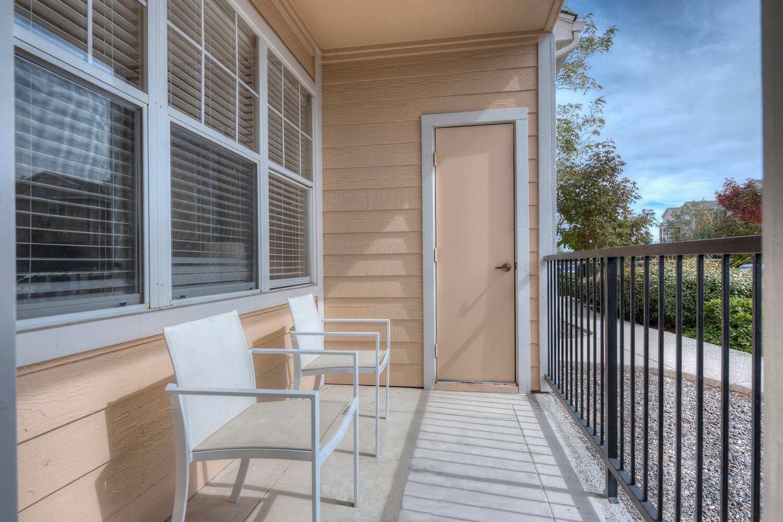 Patio/Balcony at Manzanita Gate Apartment Homes, 2475 Robb Drive, NV