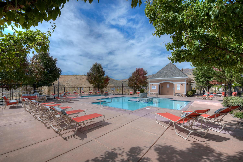 Sundeck around Pool at Manzanita Gate Apartment Homes, Reno, NV
