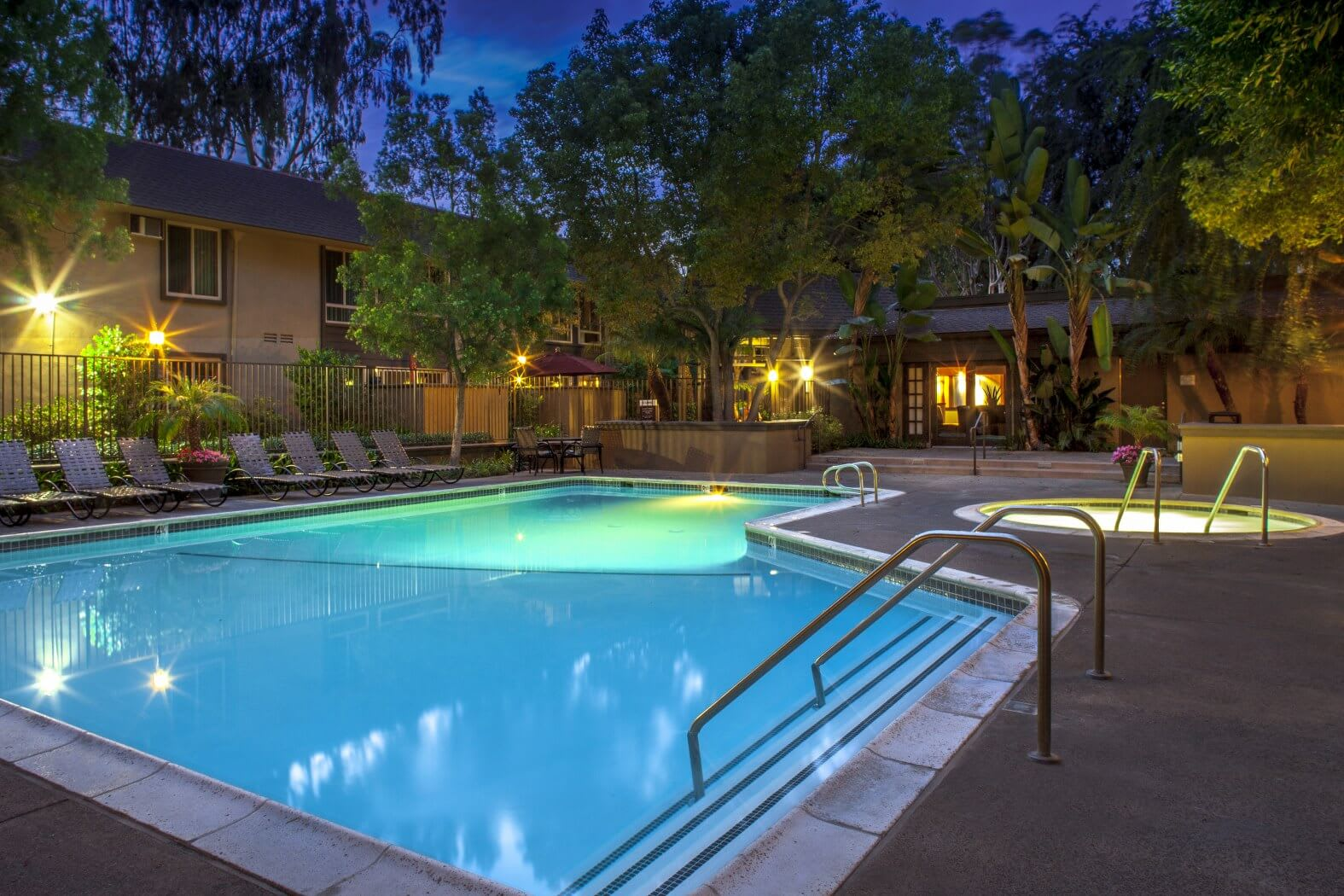 View of Sparkling Pool at Hills at Hacienda Heights, Hacienda Heights, CA, 91745